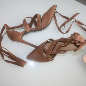 Anne Michelle  Sexy Lace Up Heels